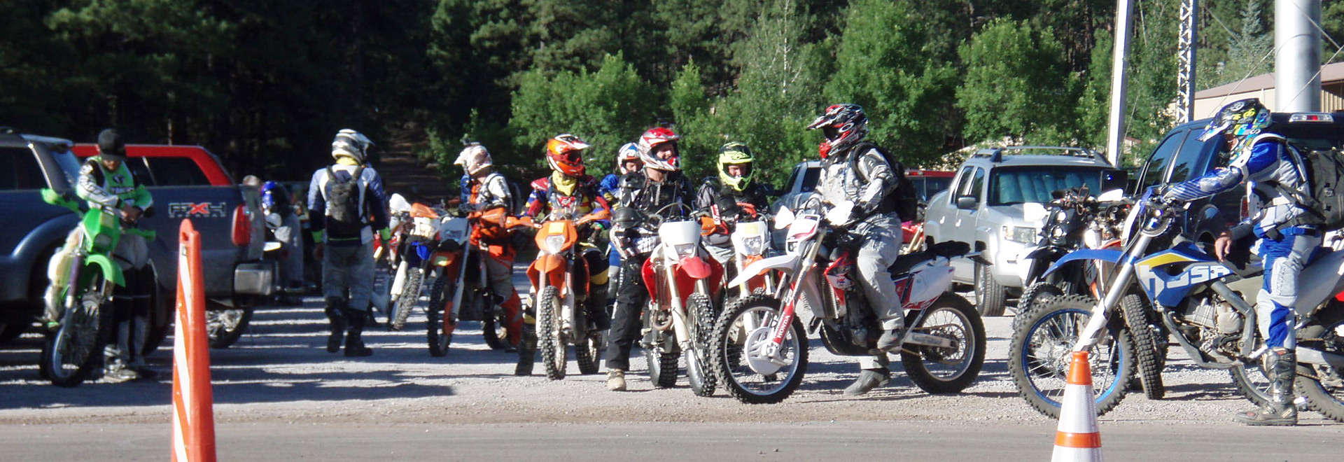 motocross line-up